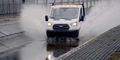 Ford E-Transit elettrico: i test sui prototipi