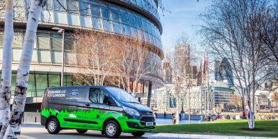 Ford Transit Hybrid Plug-in, 20 furgoni ibridi operativi a Londra
