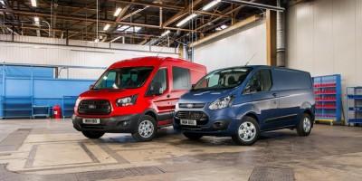 Ford Transit e Custom, ora col nuovo diesel Euro 6