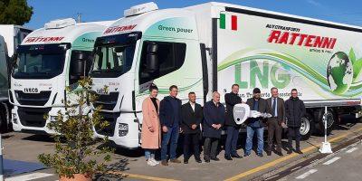 Iveco, tre nuovi Stralis alla Autotrasporti Rattenni