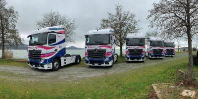 Mercedes, nuovi Actros per il Gruppo Fa. Pa.