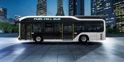 Toyota, in arrivo l'ultima versione dell'autobus FCEV Sora