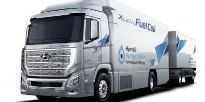 Il primo camion Hyundai a idrogeno sulle strade svizzere