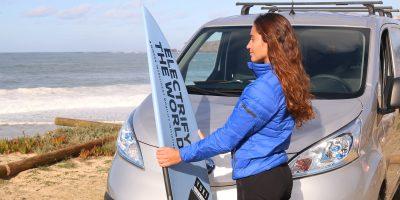 Nissan, il van 100% elettrico e-NV200 apre nuove strade di business