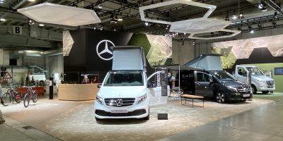 Mercedes-Benz Vans protagonista al Salone del camper 2021