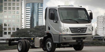 Vendite Mercedes-Benz Truck, forte crescita in Brasile