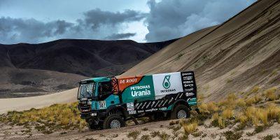 Dakar 2017, Iveco conquista due gradini del podio