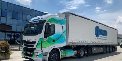 Alimentazione LNG sulle strade italiane con Iveco Stralis