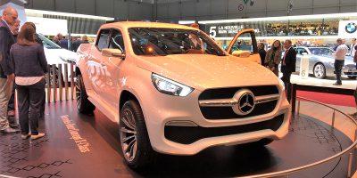 Mercedes-Benz Vans Classe X, il pick-up visto da vicino a Ginevra 2017