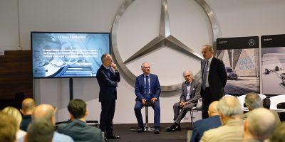 Nuovo Mercedes Sprinter, 4 ruote per l'Industria 4.0