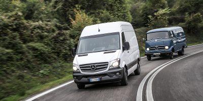 Mercedes-Benz: l'evoluzione dei veicoli commerciali e industriali nel tempo