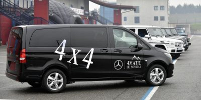 Mercedes-Benz Vito 4×4: sulle piste con le scuole italiane di sci