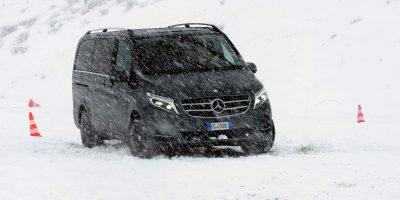Mercedes-Benz Vito Tourer 4Matic, la prova su strada e sulla neve