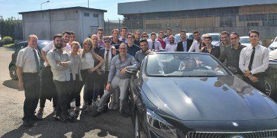 Mercedes, riparte il progetto #MercedesVivaio