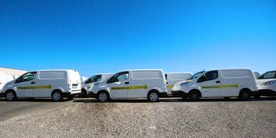 Nissan consegna a Poste Italiane una flotta di e-NV200