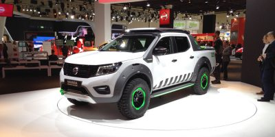 Nissan Navara EnGuard Concept allo IAA di Hannover 2016
