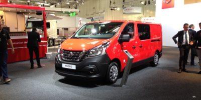 Nuovo Nissan NV300 al Salone di Hannover 2016