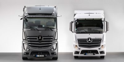 Nuovi Mercedes-Benz Actros F e Edition 2, caratteristiche e foto