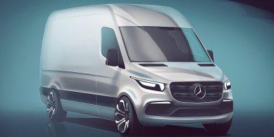 Nuovo Mercedes-Benz Sprinter 2018: prime informazioni e immagine ufficiale