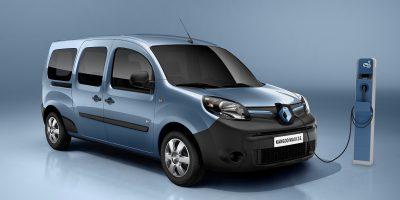 Nuovo Renault Kangoo Z.E., i prezzi di listino del furgone elettrico compatto