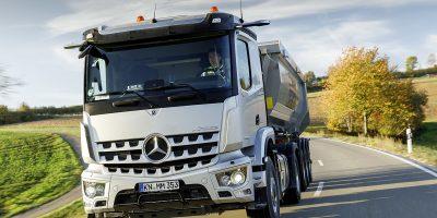 Nuovo Mercedes Arocs, il Re dei cantieri