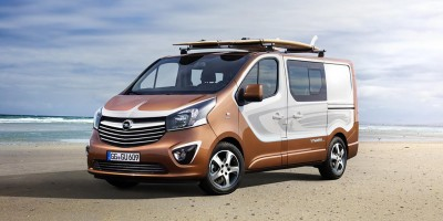 Opel Vivaro Surf Concept, pensato per la spiaggia