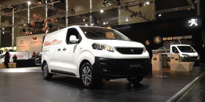 Il nuovo Peugeot Expert allo IAA di Hannover 2016