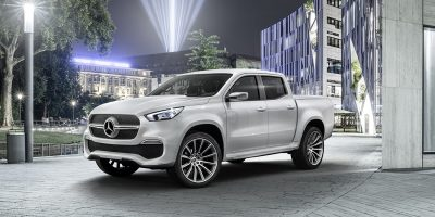 Pick-up Mercedes: svelato il Concept X-Class