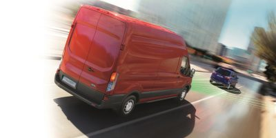 Il Pre-Collision Assist su Ford Transit e Transit Custom