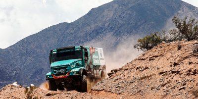 Dakar 2017, una tappa da podio per Iveco