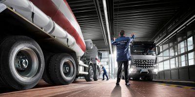 Mercedes, l'emergenza non ferma i servizi di manutenzione