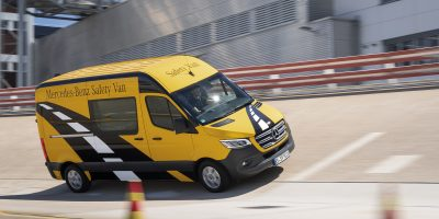 Viaggio nei sistemi di sicurezza e assistenza del nuovo Mercedes Sprinter