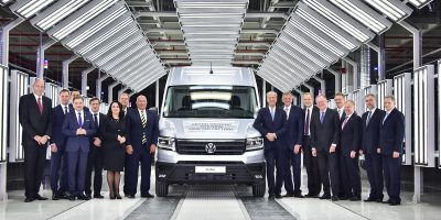 Il nuovo stabilimento produttivo del Volkswagen Crafter in Polonia