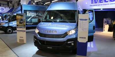 Lo stand Iveco al Transpotec 2017