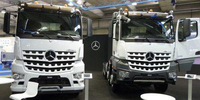 Lo stand Mercedes-Benz al Transpotec Logitec 2017