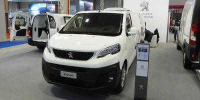 Lo stand Peugeot al Transpotec Logitec 2017