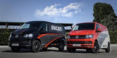 Un Volkswagen Transporter speciale al World Ducati Week