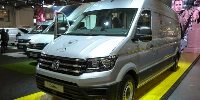 Lo stand Volkswagen al Transpotec Logitec 2017